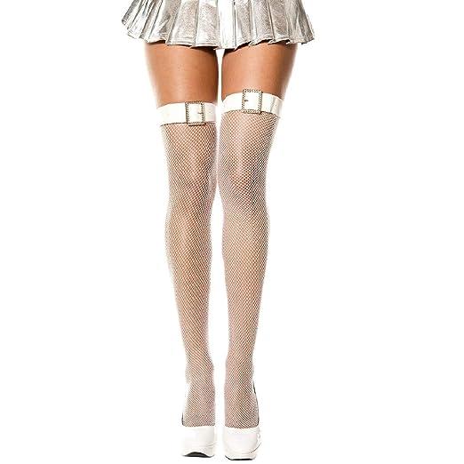 759262c3cf2 Amazon.com  MUSIC LEGS Women s Belt and Faux Rhinestone Buckle Thigh ...