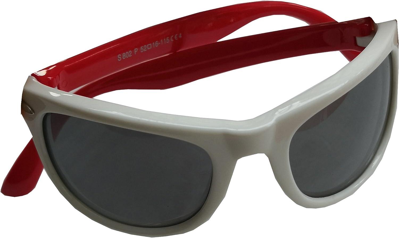 FOURCHEN Occhiali da sole polarizzati per bambini TPEE flessibile in gomma per le ragazze da 3 a 10 anni