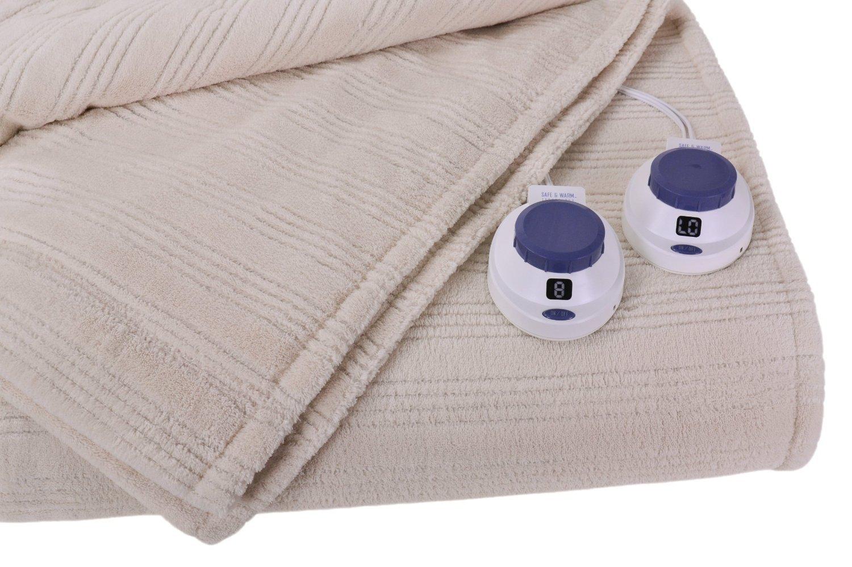 Amazon.com: Soft Heat Ultra Micro-Plush Low-Voltage Electric ...