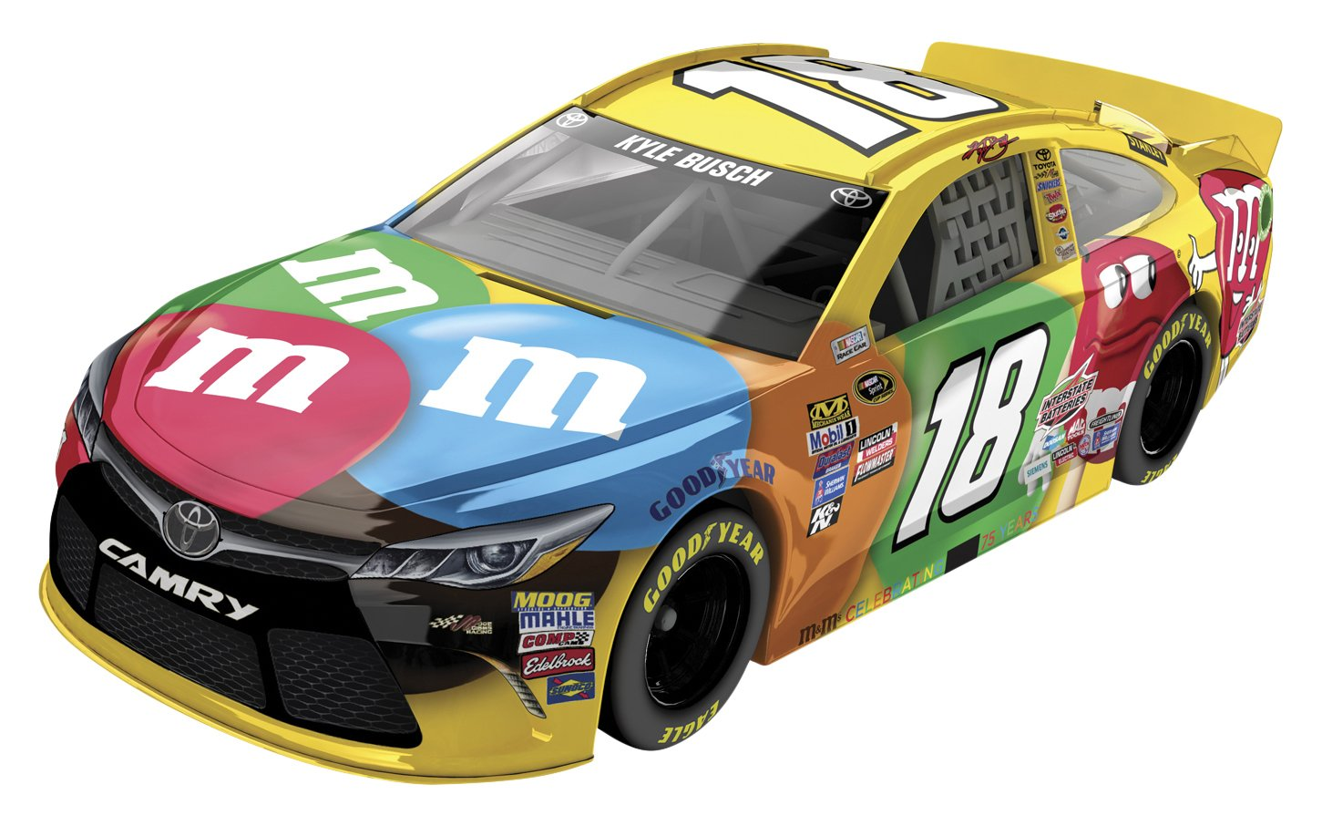 Lionel Racing Kyle Busch 18 M M S 2016 Toyota Camry