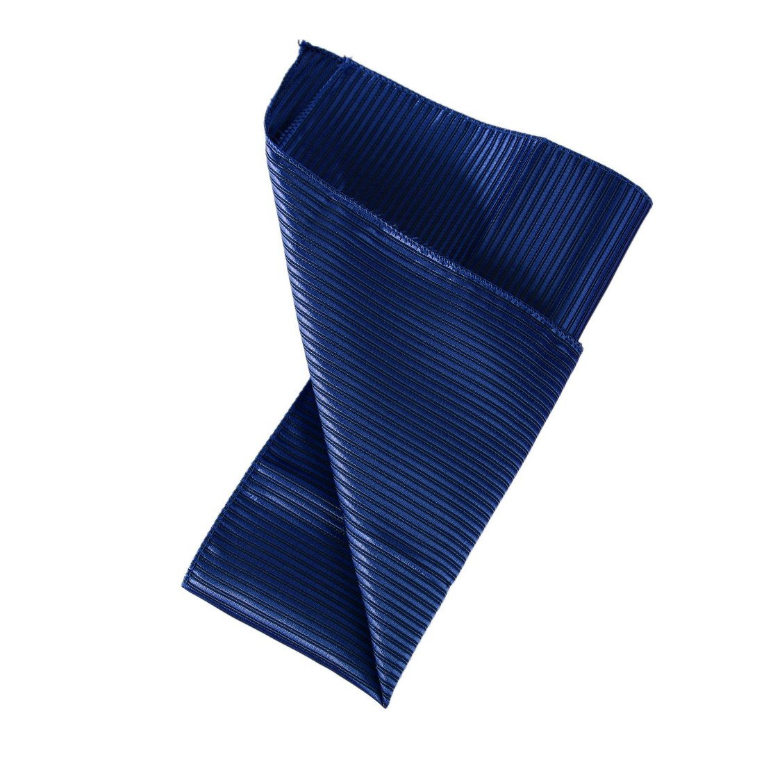 Dan Smith Mens Fashion Multicolored Stripes Pocket Square Microfiber Hanky With Free Gift Box