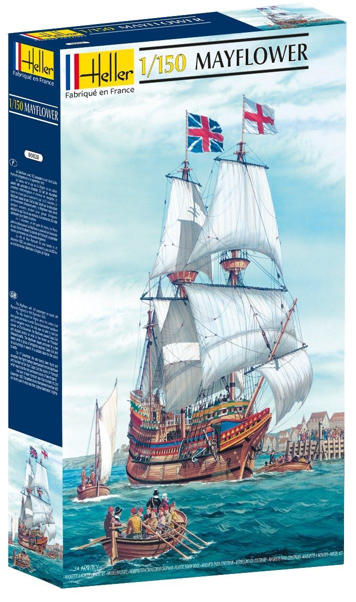 Heller Mayflower Merchant Sailing Ship Boat Model Building Kit