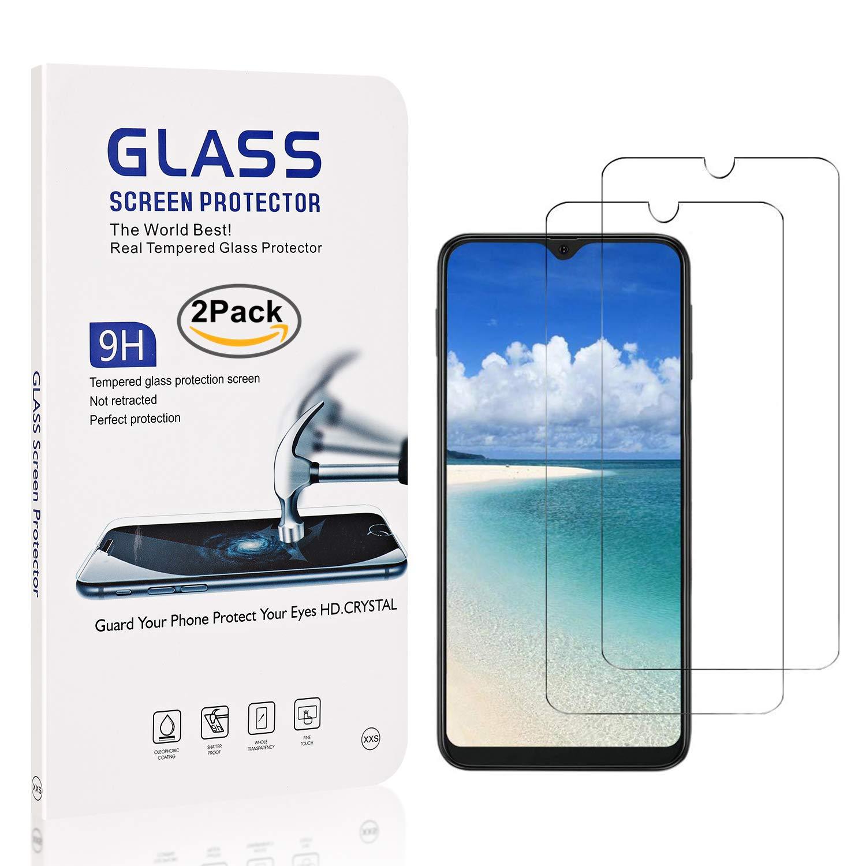 The Grafu/® Vetro Temperato per Galaxy A40 Antiurto Alta Trasparenza Pellicola Protettiva in Vetro Temperato per Samsung Galaxy A40 Facile Installazione 2 Pezzi