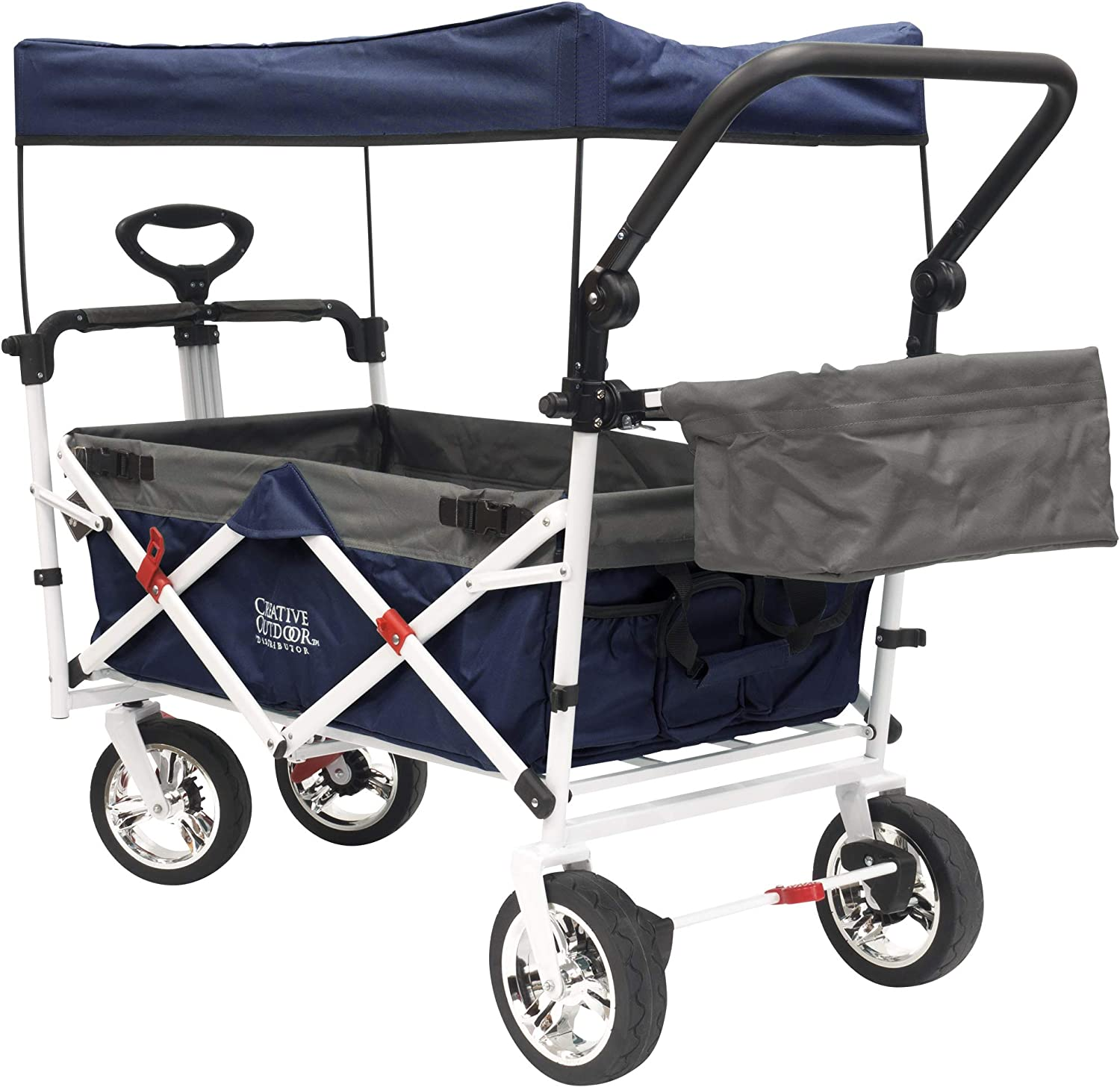 Creative Outdoor Push-Pull Collapsible Folding Wagon