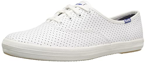 a3a2bfe906d80 Keds Women s Champion Retro Court Perf Leather Fashion Sneaker