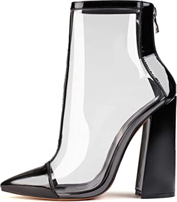 High Heel Mid-Calf Sandals Booties