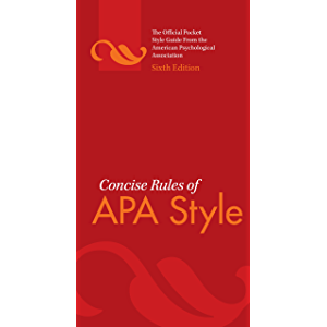 amazon com apa style guide to electronic references sixth edition