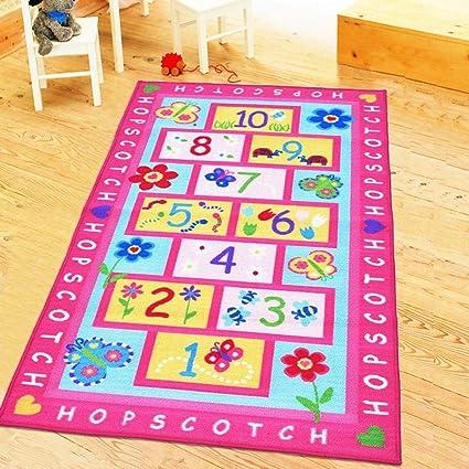 Gleecare Carpet Mat Children Cartoon Game Blanket Anti-Skid Machine wash 100x140cm: Amazon.ca: Home & Kitchen
