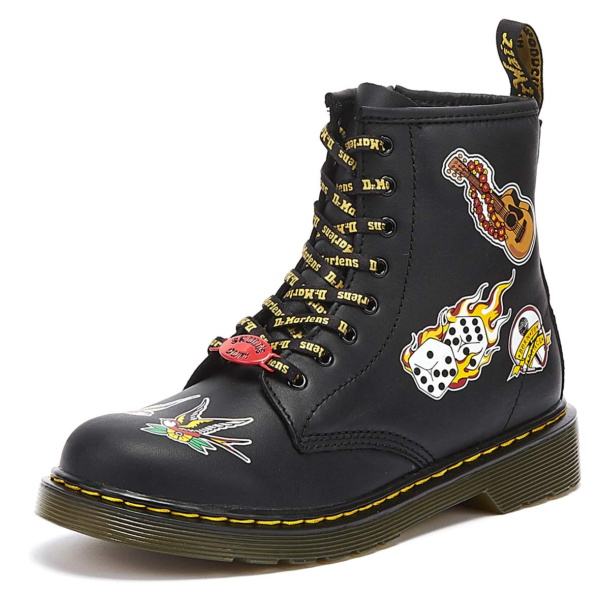 Martens Kids Collection Unisex 1460 Patch Boot Big Kid Dr