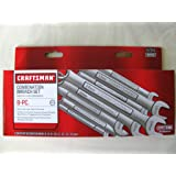 Craftsman 8 Piece Metric 12 Point Combination Wrench Set, 9-47243