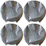 "Amfor Set of 4 Tire Covers,Waterproof Aluminum Film Tire Sun Protectors,Fits 27"" to 29"" Tire Diameters,Weatherproof Tire Protectors"