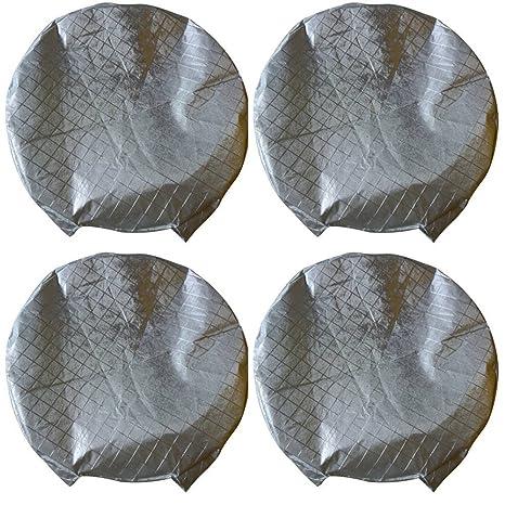Wetterfeste Reifensch/ützer Wasserdichte Aluminiumfolie Reifen Sonnenschutz passend f/ür 27 bis 29 Reifendurchmesser 4er Set YBB Reifenabdeckungen Reifen Abdeckung