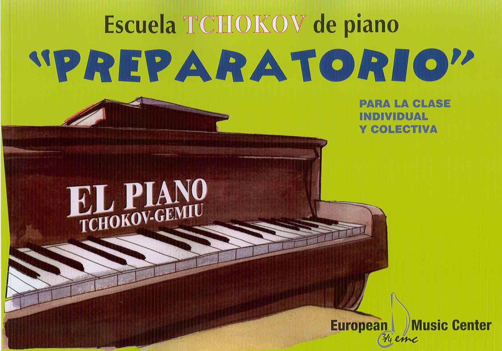 Download ESCUELA TCHOKOV PIANO PREPARATORIO ebook