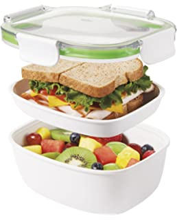 Amazoncom Rubbermaid Brilliance Salad Lunch Storage Container