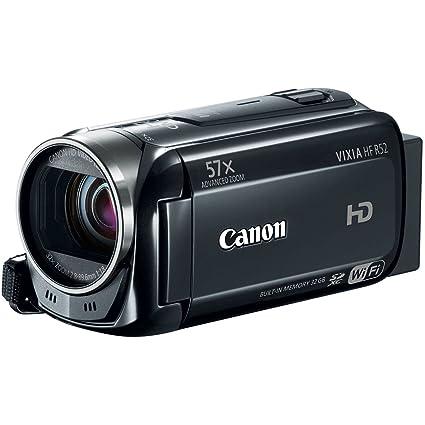 amazon com canon vixia hf r52 hd digital camcorder 1080p with 32gb rh amazon com Canon VIXIA HF R20 Canon VIXIA HF R52