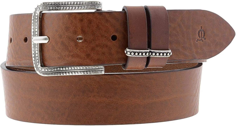 El Caballo Cinturón Ancho Piel para Mujer