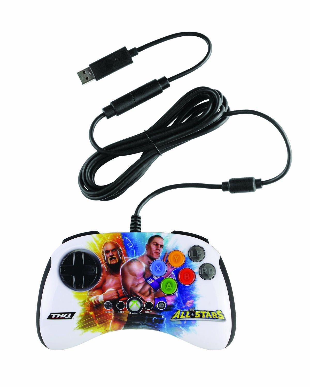 Mad Catz WWE All STARS BrawlPad - Volante/mando (Mando de juegos, Xbox, D-pad, Turbo, Volver, Start, Con cables, USB, 3 m) Múltiple: Amazon.es: Videojuegos