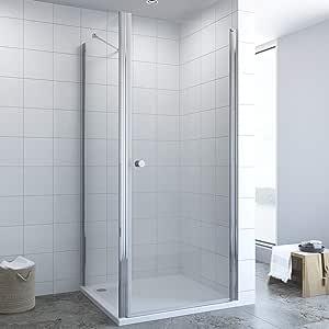 Cabina de ducha con puerta de péndulo.: Amazon.es: Bricolaje y herramientas