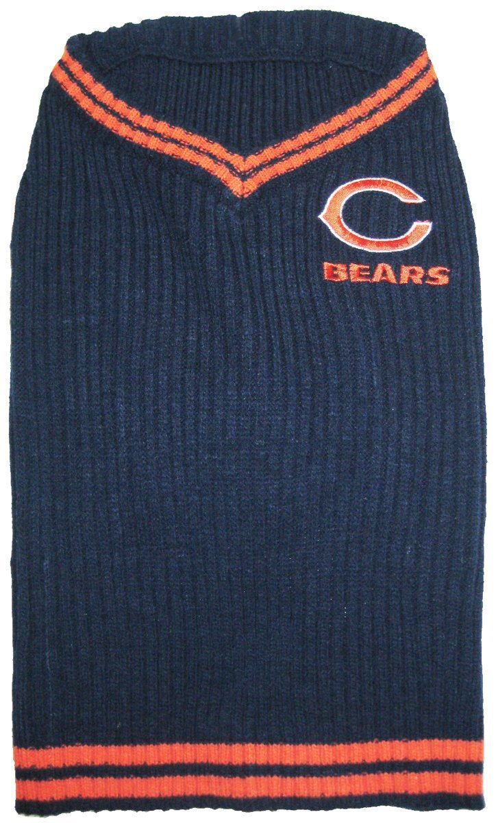 NFL Chicago Bears Pet Sweater, X-Small by T-Shirts