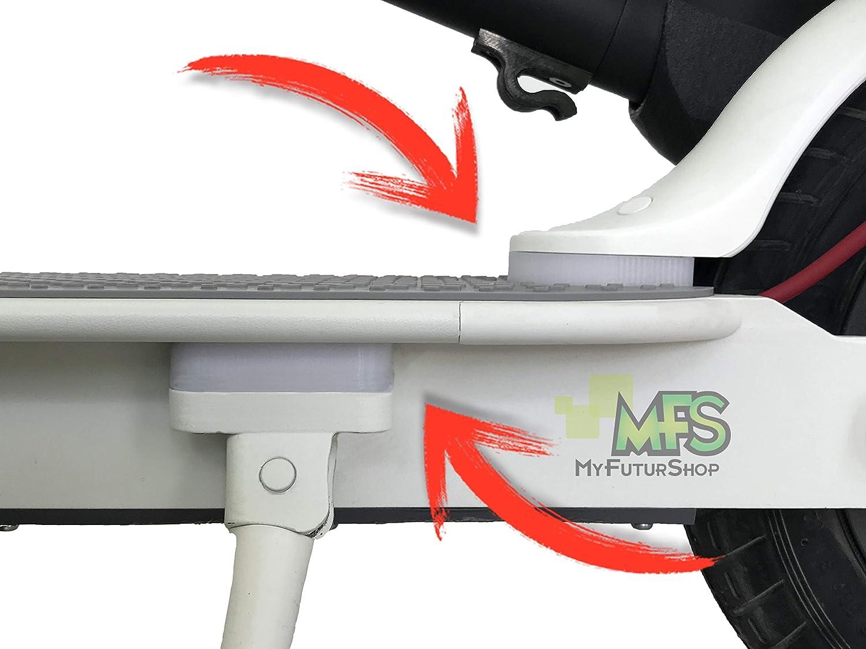 MyFuturShop Kit para Ruedas 10 Pulgadas Compatible con Xiaomi M365, Levanta el Guardabarros y el Caballete para Poder Poner la Rueda Trasera.