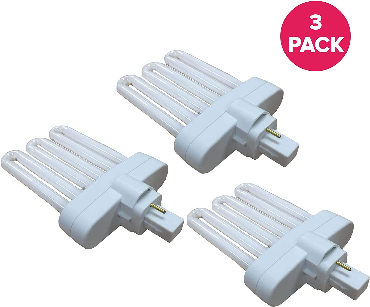 Think Crucial Replacement for Miracle-GRO B Grow Bulb Compatible with AeroGarden Part # 970904-0200,100340 & Models AeroGarden 3,3SL,3 Elite,6,7,Chef in A Box,Chef in A Box Elite (3 Pack)