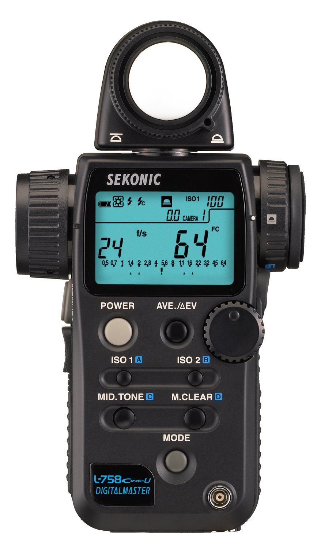 Sekonic L-758Cine-U Digital Master Light Meter by Sekonic