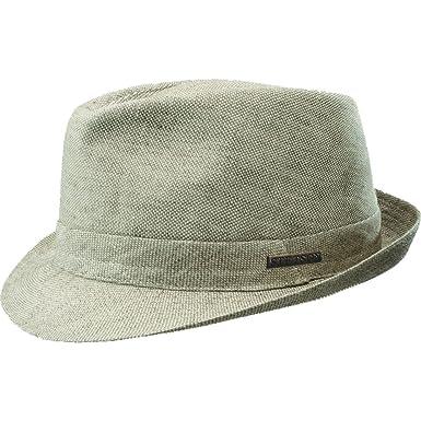 4206ea72b532c Stetson Men s Palmdale Stingy Brim Linen Hat