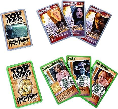 Top Trumps Harry Potter y las reliquias de la muerte Parte 1 Juego de cartas: Amazon.es: Juguetes y juegos