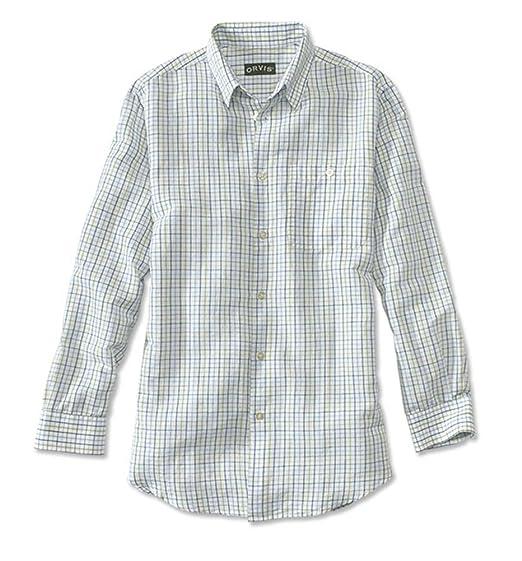 a279e258ea Orvis Linen Cotton Andover Long-Sleeved Shirt  Amazon.co.uk  Clothing