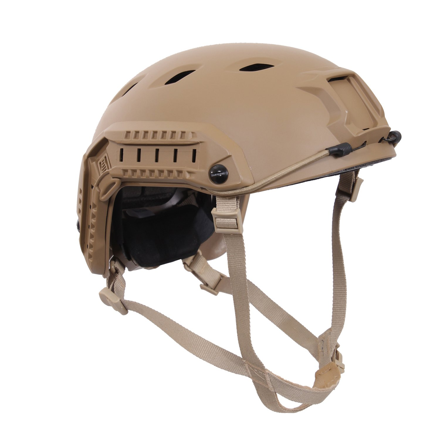 Rothco Advanced Tactical Adjustable Airsoft Helmet, Coyote Brown by Rothco