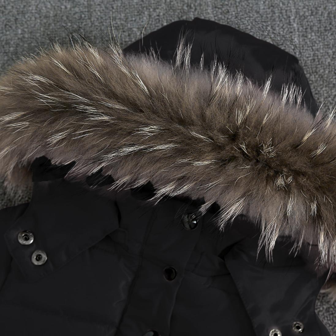 11e0c5e62 Amazon.com  Fullfun 1-3T Toddler Baby Winter Warm Coat Outerwear ...