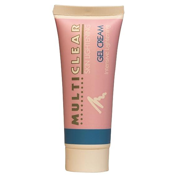 Gel Crema Aclarador Intensivo MULTICLEAR - 40ML. Crema antimanchas Ayuda a combatir las manchas oscuras de la piel y evita la aparición de nuevas manchas.