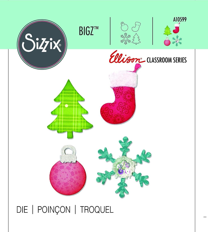 "Ornement de flocon de neige 1 Die *** *** /""Sizzix/"""