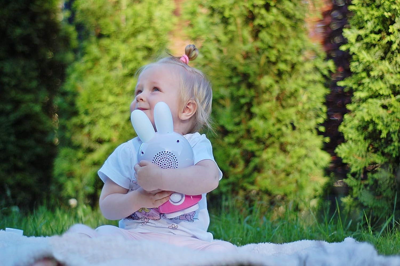 Blau Babyspielzeug Nachtlicht Storyteller Einschlafhilfe Alilo Honey Bunny Edutainment f/ür Ihr Kind - Mediaplayer - inkl. ausgesuchter Geschichten und Lieder