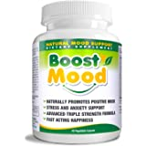 Boost Mood Natural Mood Support Dietary Supplement, 60 Vegetable Capsules