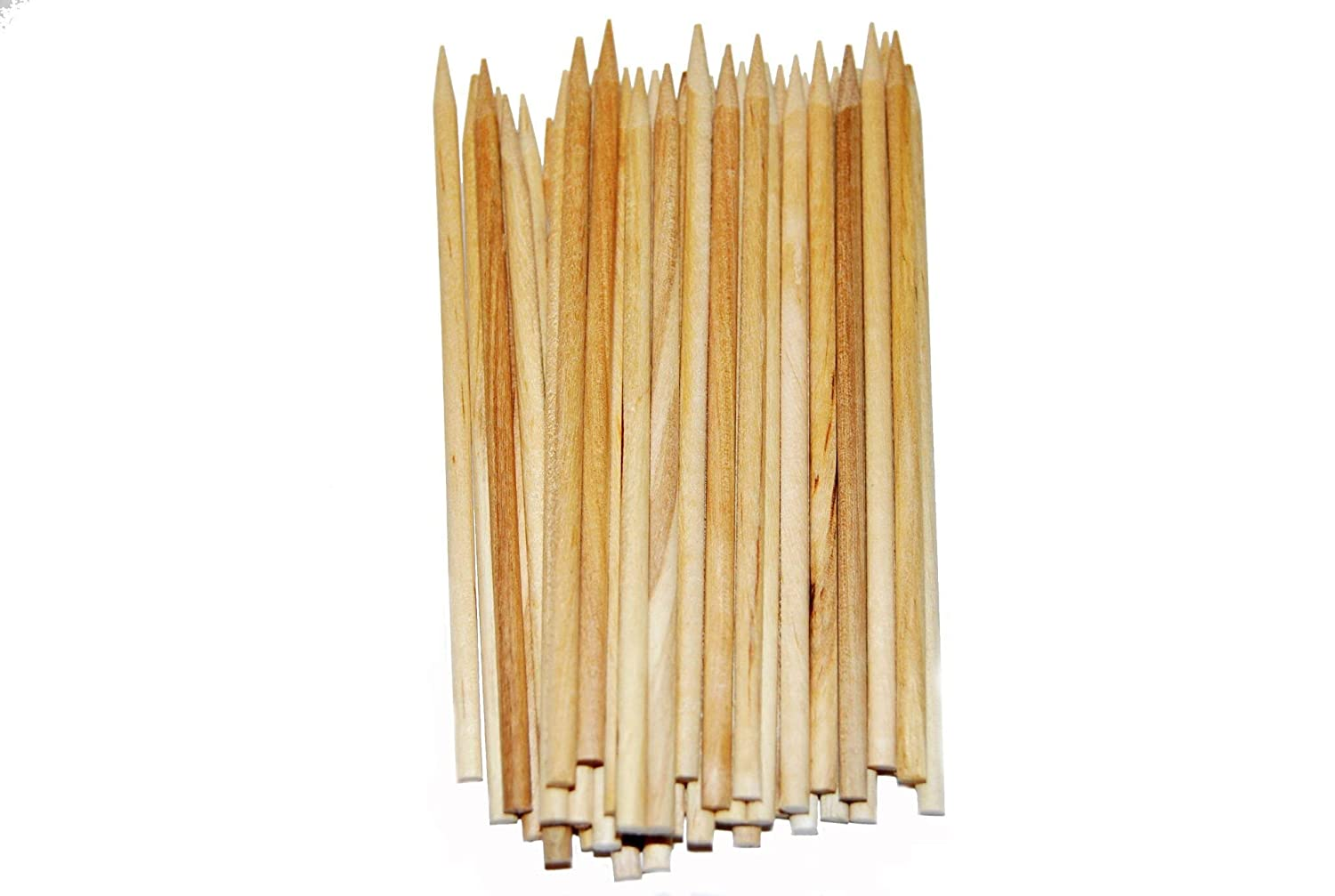 "Perfect Stix Candy Apple Wooden Stick Skewer 5.5"" Length 1/4"" Diameter ( pack of 1000)"