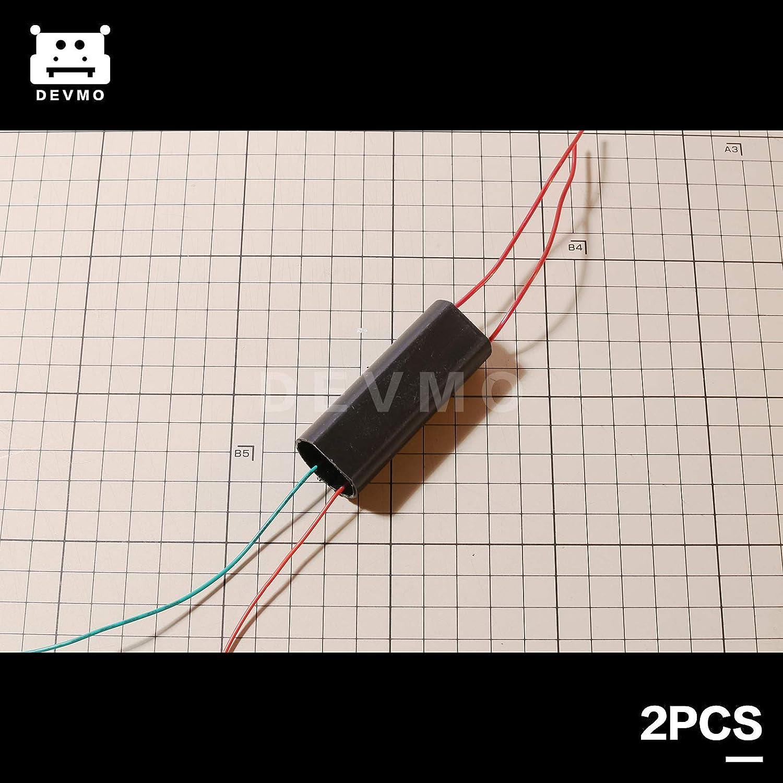 DEVMO 2PCS DC 3V-6V to 400kV 400000V Boost Step-up Power Module High-Voltage Generator