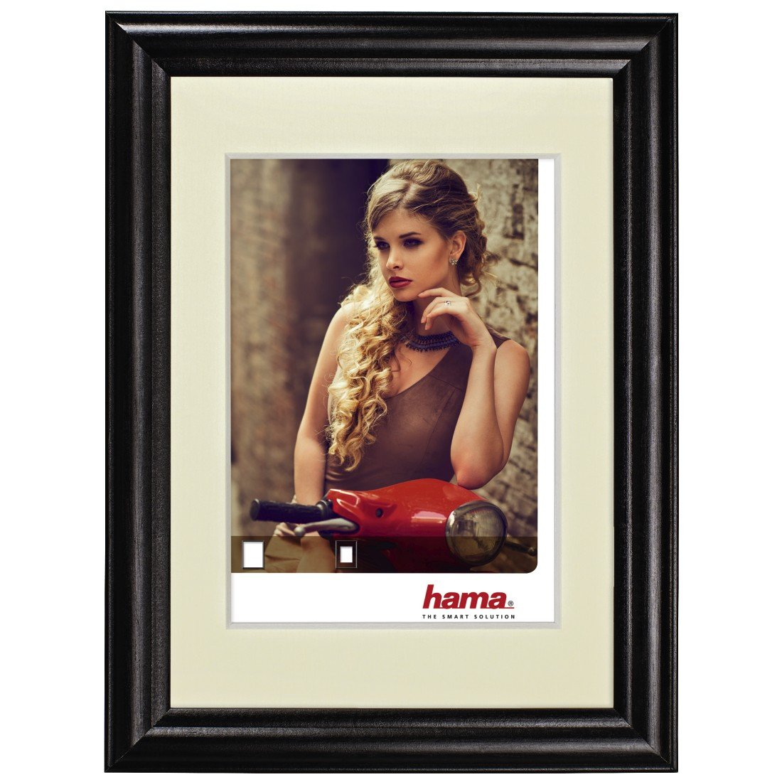 13/x/18/cm Hama Cadre photo en bois Bellina noisette