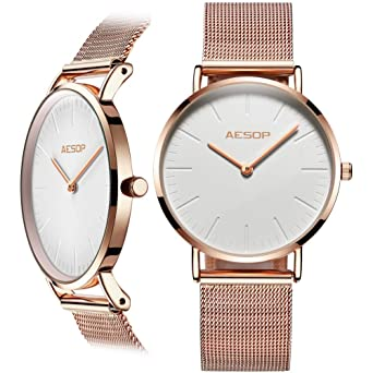 Amazon.com: OLEVS - Reloj analógico de cuarzo para mujer ...