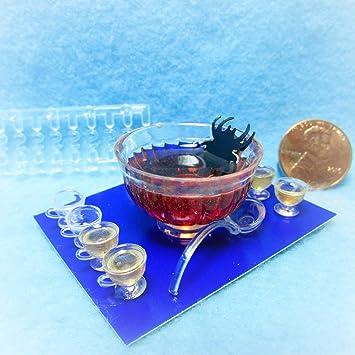 Spoon Holder Rack Miniature Dollhouse Chrysnbon Kit