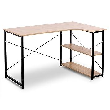 WOLTU TSB06hei Schreibtisch Computertisch Büromöbel PC Tisch ...