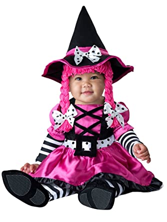 Amazon.com: Fun World InCharacter Costumes Baby Girls' Wee Witch ...