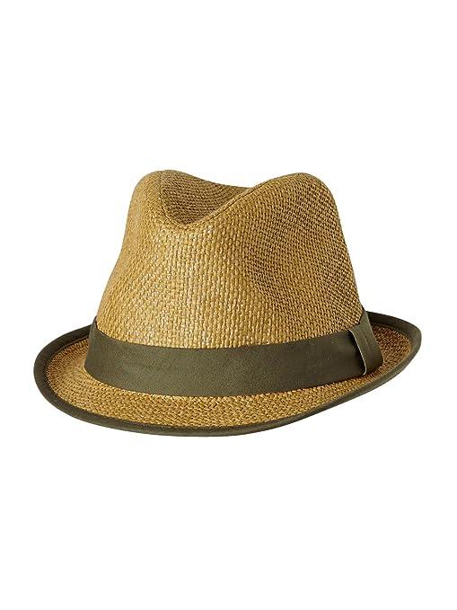 VERTBAUDET Sombrero de ceremonia para bebé niño BEIGE MEDIO LISO 44 ... d3315627f57