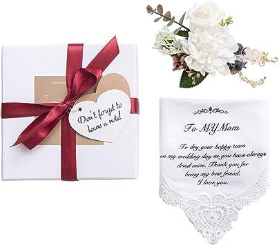Amazon.com: Lings moment Hankie - Pañuelo de boda para ...