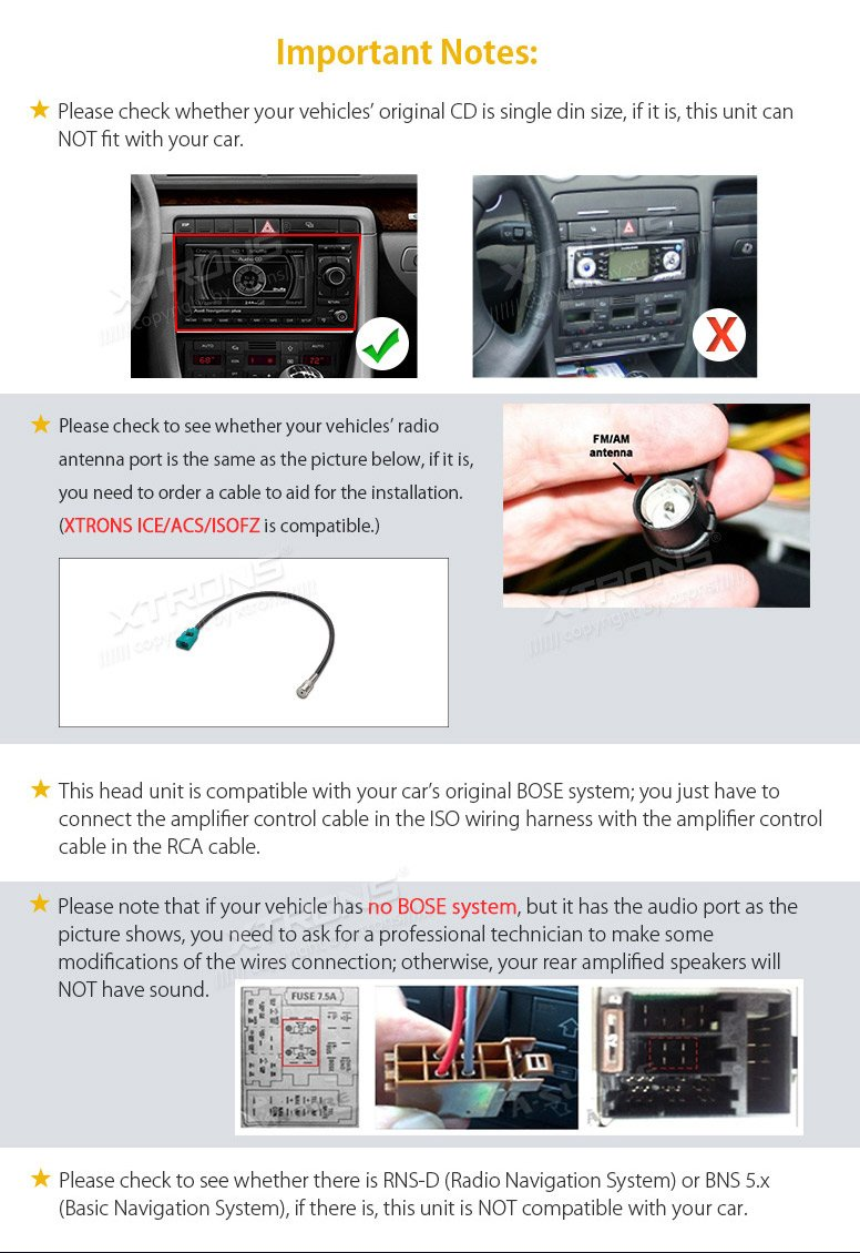 Manual Bns5 Toyota Prius 2004 Onwards Car Radio Wire Harness Wiring Iso Lead Array Xtrons 7 Inch Android 8 0 Octa Core 4g Ram 32g Rom Amazon