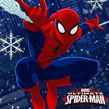 Spiderman Christmas.Gemma Spiderman Christmas Card Box Set 24 Pieces Amazon Co