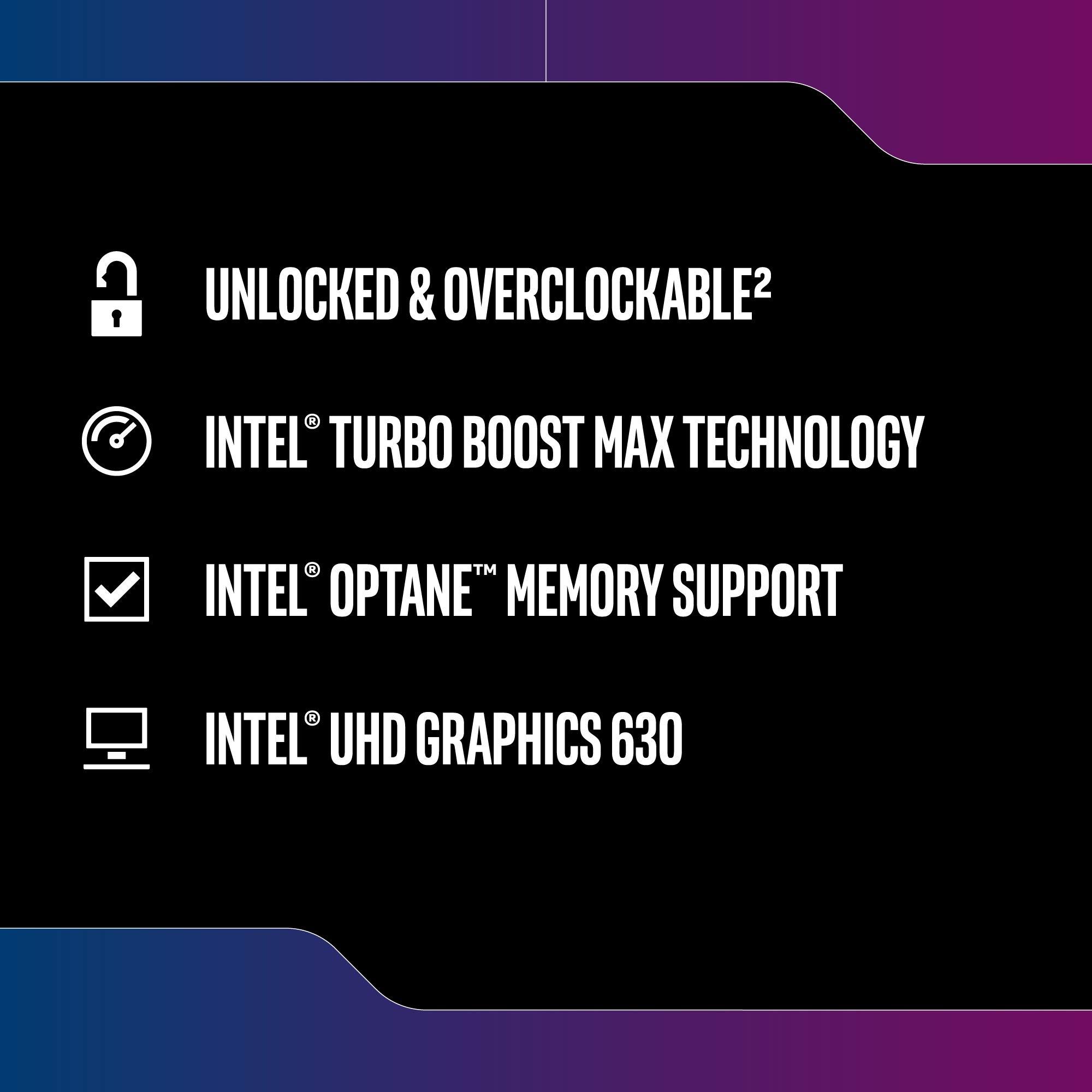 Intel Core i5-9600K Desktop Processor 6 Cores up to 4.6 GHz Turbo Unlocked LGA1151 300 Series 95W by Intel (Image #4)