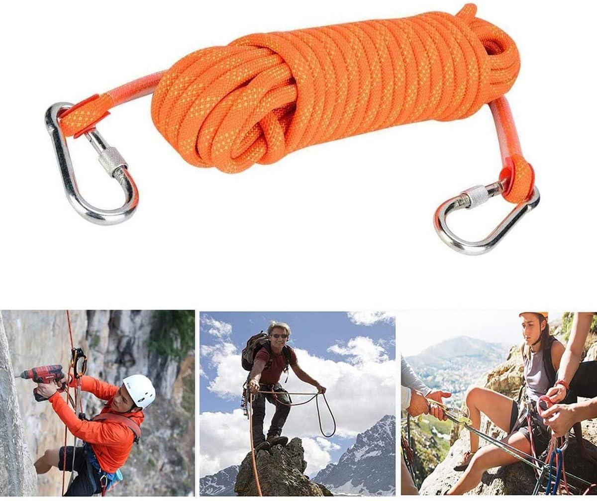 Cuerda de escalada de 12 mm al aire libre para escapar del ...