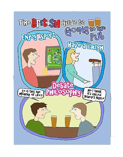 Pub - Jolly Hockey Sticks - Tarjeta de cumpleaños en blanco ...