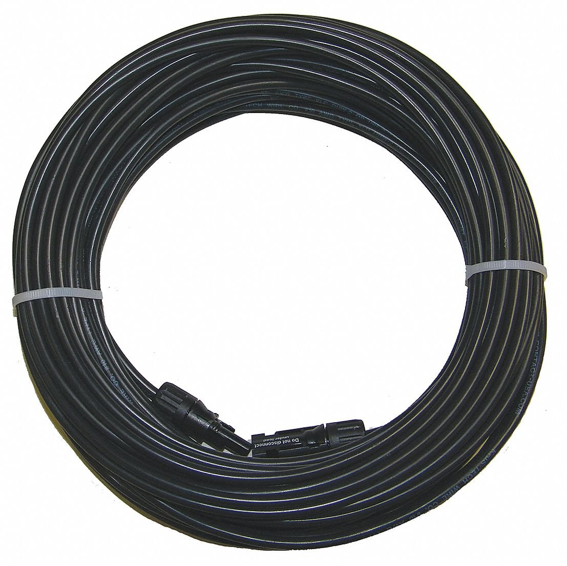 Solar Panel Cable 100 Ft - Mc4 Pv Extension- 10 AWG - 1000vdc- Pv Wire - Sunlight Resistant by Multi-Contact by Multi-Contact